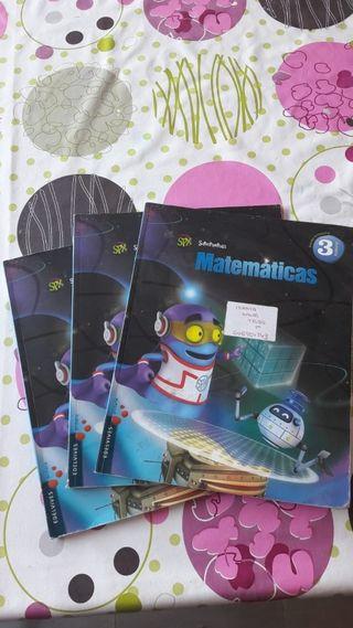 Matemáticas 3 primaria edelvives