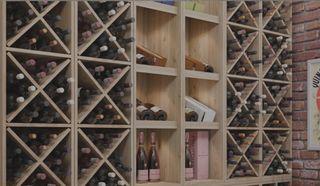 Estanterías para vino, casa, restaurante, tiendas
