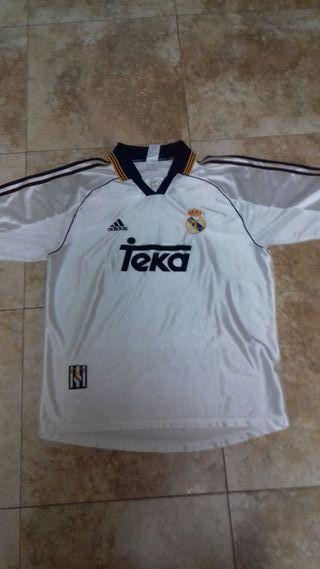 Camiseta Real Madrid (época Redondo)