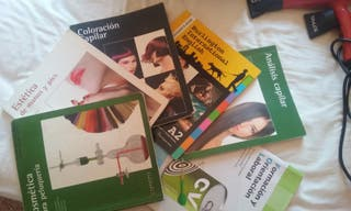 libros para 1°peluqueria FP Batoy