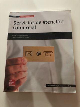 Servicio de atención comercial
