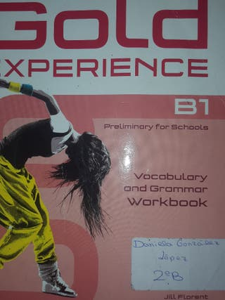 Ingles 2 eso Gold experience Woorkbook B1