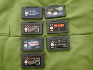 Juegos game boy advance sp