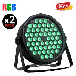 FOCOS LED RGB DE 81W DMX NUEVOS