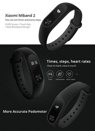 Smart Band Xiaomi MiBand 2 nueva a estrenar