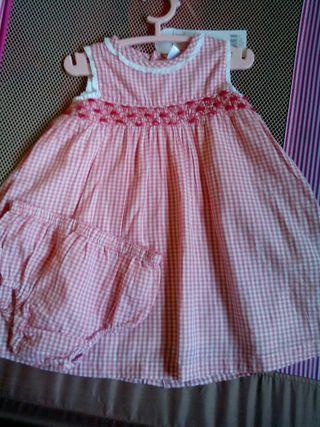 Vestido talla 23 meses