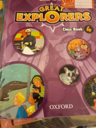 inglés 4° primaria Oxford great explorers