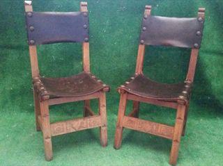 sillas estilo castellano