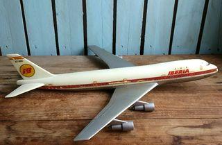 Antigua maqueta Iberia, Avión Boeing 747 Pumersa