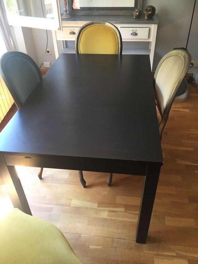 Mesa comedor extensible Ikea de segunda mano por 35 € en Barcelona ...