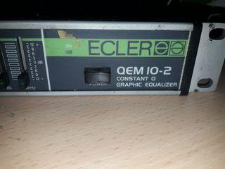 Ecualizador Ecler QEM 10-2