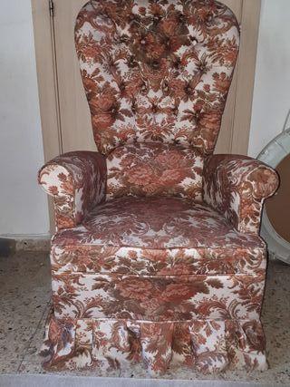 Butaca-mesedora vintage