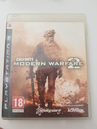 juego ps3 call of duty mw2