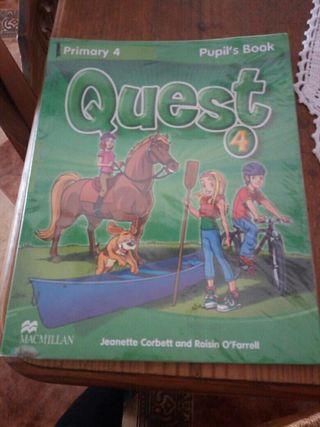 libro de ingles de 4 de primaria