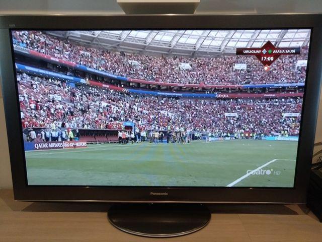 "Televisión Plasma Panasonic V20 50"""