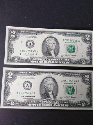 Dolares de Boston, letra A.