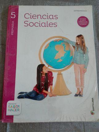 Libro 5 primaria Ciencias Sociales