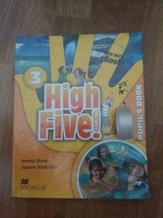 libro inglés 3°primaria