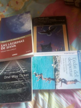 Libros de lectura 1r de eso 5€ cada uno