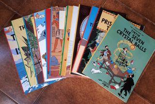 Comics en inglés Tintín