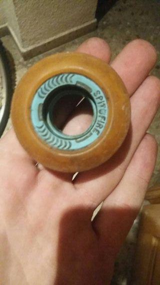 ruedas spitfire skate