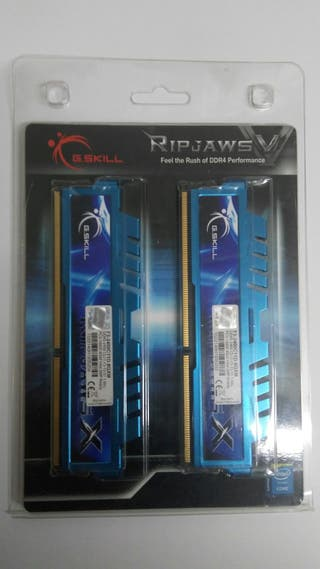 8 GB KIT 2x4 GSKILL RIPJAWS DDR3-2400 MEMORIA RAM