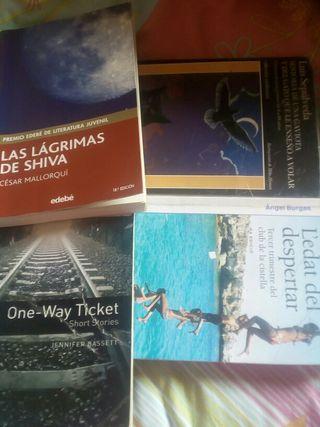 libros de lectura 1r eso 5€ cada uno