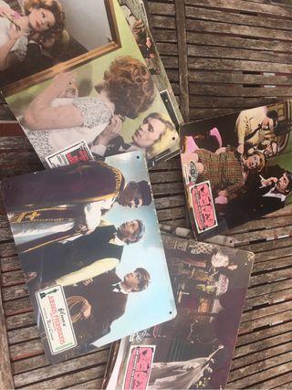 Cartelas fotos vintage cine