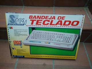 Bandeja teclado ordenador PC Color Negro