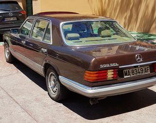 Mercedes 500SEL 1983