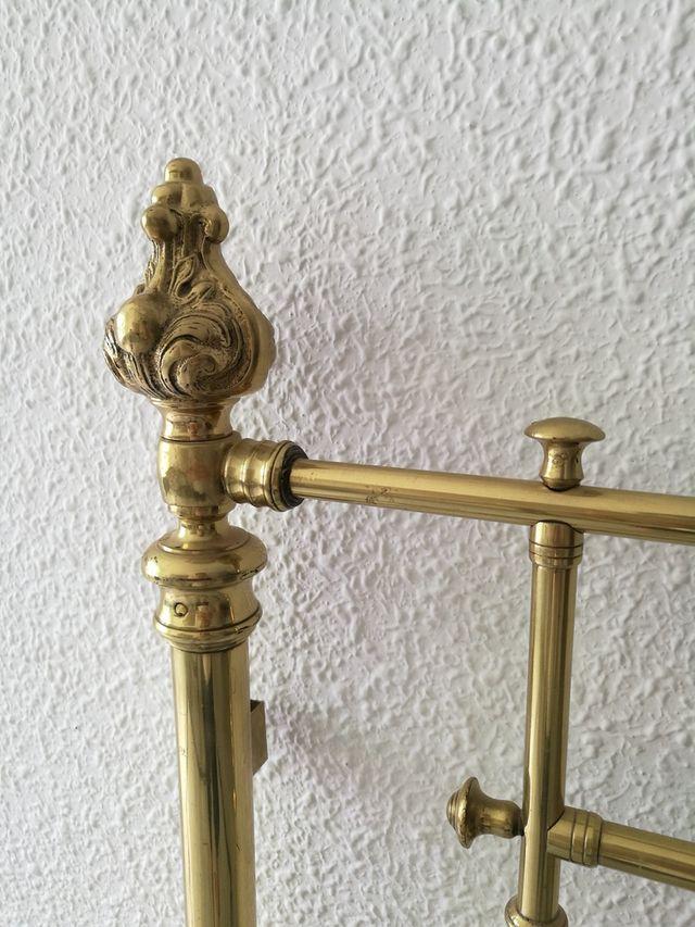 Cabecero antiguo de bronce y latón de segunda mano por 199 € en ...