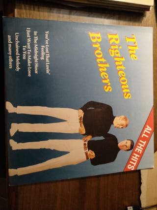 vinilo de THE RIGHTEOUS BROTHERS ALL THE HITS