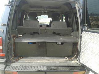 Cajón Land Rover Discovery en chapón marino
