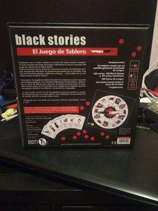 Juego de tablero Black stories