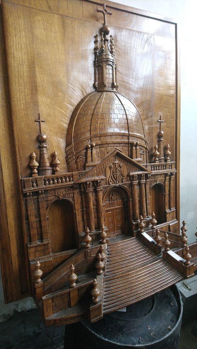 Cuadro tallado Santuario de Loiola