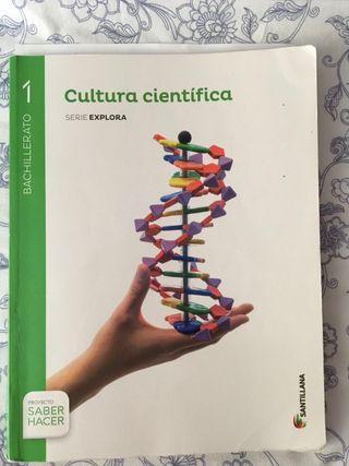 Libro Primero Bachillerato Cultura Científica
