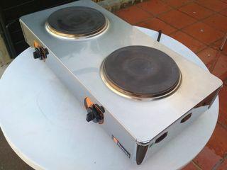 cocina industrial hostelería electrica 2 fuegos