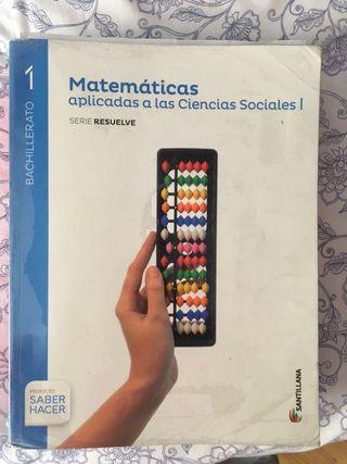 Libro de Primero Bachillerato Matemáticas