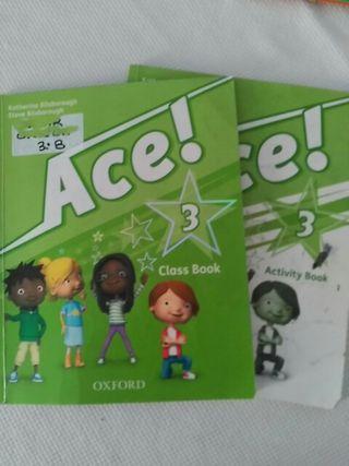 Libro texto. Ace! 3 primaria Oxford