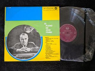 """Disco de vinilo """"El piano de Jose Iturbi"""""""