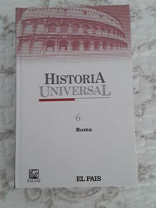 Libro de Historia de ROMA