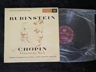 """Disco de vinilo """"Chopin - Concierto No. 1"""""""