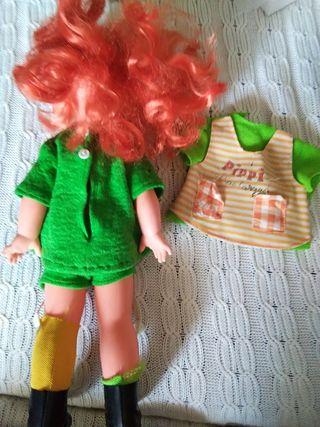 Muñeca Pippi calzaslargas.