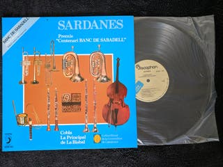 "Disco de vinilo ""Sardanes"""