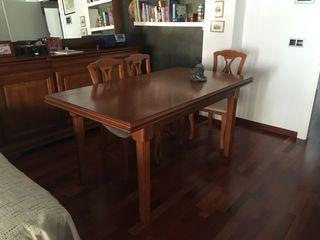 Mesa de comedor madera maciza