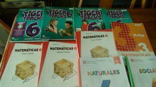 libros 6 primaria ( colegio virgen de las candelas