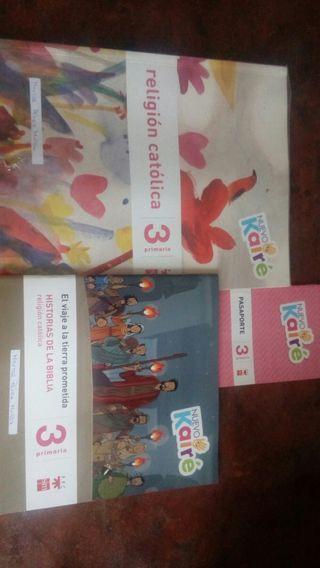 libro de texto 3° primaria religion