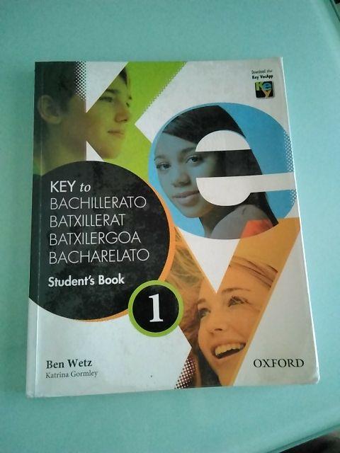"Libro Inglés ""Key to Bachillerato"""