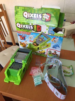 Juguete maquina Qixels3D