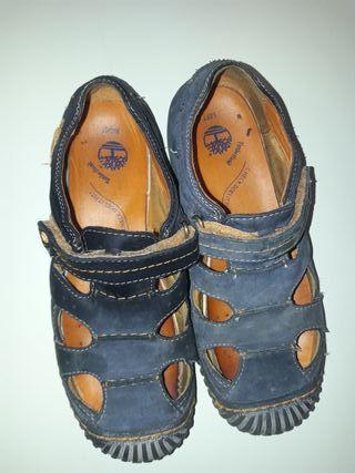 Zapatos 35 primavera verano niño Timberland de segunda mano